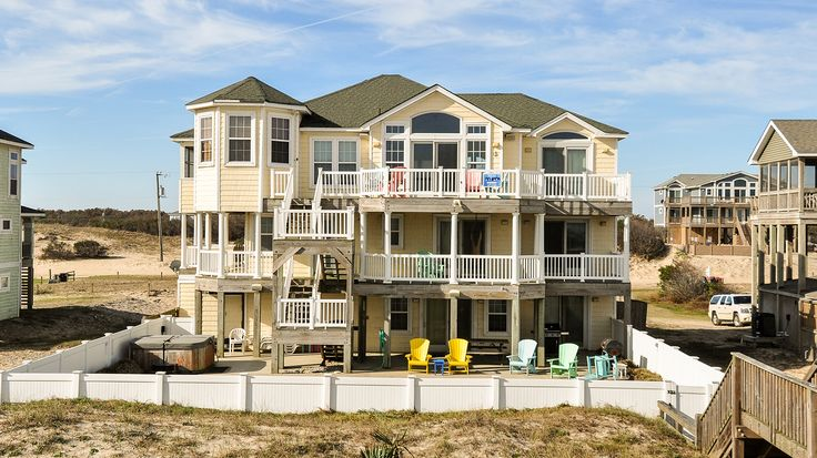 Sea Forever - V12057 is an Outer Banks Oceanfront vacation rental in Carova Beach 4x4 NC that features 8 bedrooms and 5 Full 1 Half bathrooms. This pet friendly rental has a private pool, a pool table, and wifi among many other amenities. Click here for more.