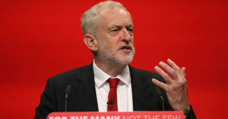 """The British Labour leader also slammed Tories' austerity agenda and Prime Minister Theresa May's """"disdain for the powerless and the poor"""""""