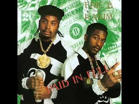 Eric B. & Rakim - Paid In Full (1987) [FULL ALBUM] The God MC!! gotta have this in your collection!!!