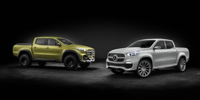 Mercedes-Benz X-Class sets to bring style to the premium pickup segment