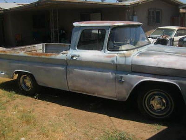 Chevrolet: C-10 2DR 1963 chevy c 10 long