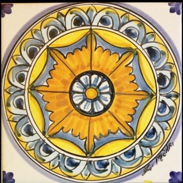 Italian ceramics - Mattonaccio tile - Eros - Menfi collection | Touch of Sicily - Italy. #tile