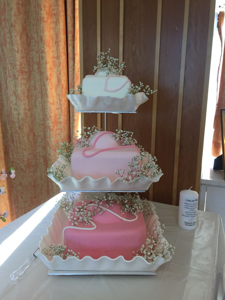French fancy wedding cake