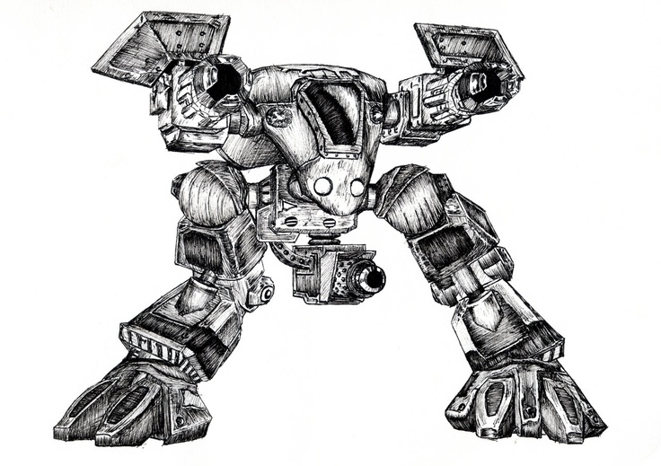 StarCraft Goliath by ~Gamewiz on deviantART