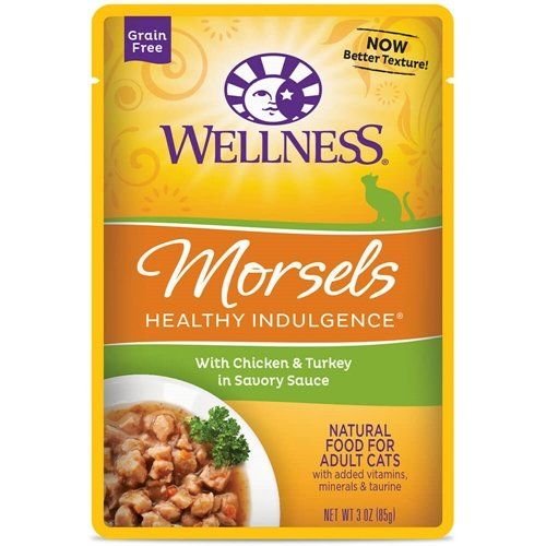227 best cat food pouches images on pinterest the sale cats and wellness healthy indulgence grain free shreds chicken and turkey wet cat food pouch pack of check this awesome product by going to the link at the forumfinder Choice Image