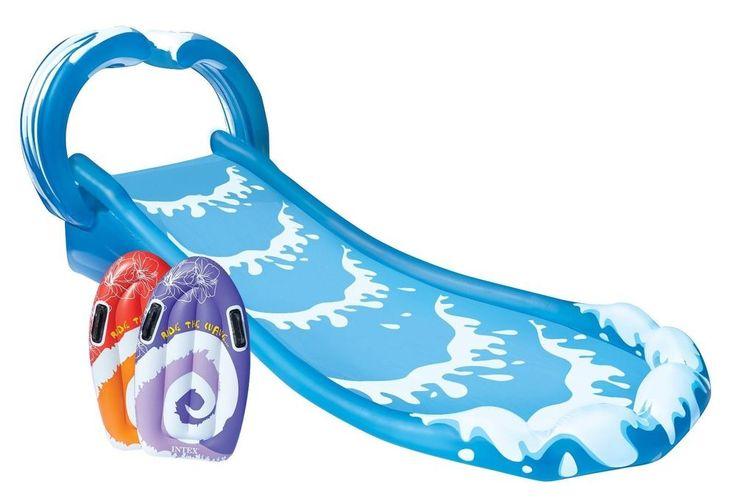 Intex Surf N Slide Inflatable Kids Water Slide Play Center Splash Pool Fun Toy #Intex