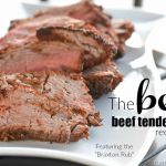 Holy Cow!!! This is the BEST Beef Tenderloin Recipe EVER. http://fantabulosity.com