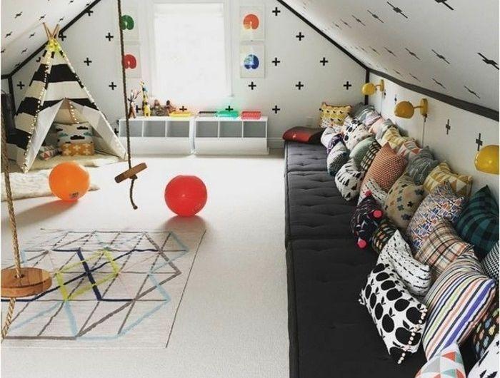 la chambre bb mixte en 43 photos dintrieur - Chambre Loft Bebe