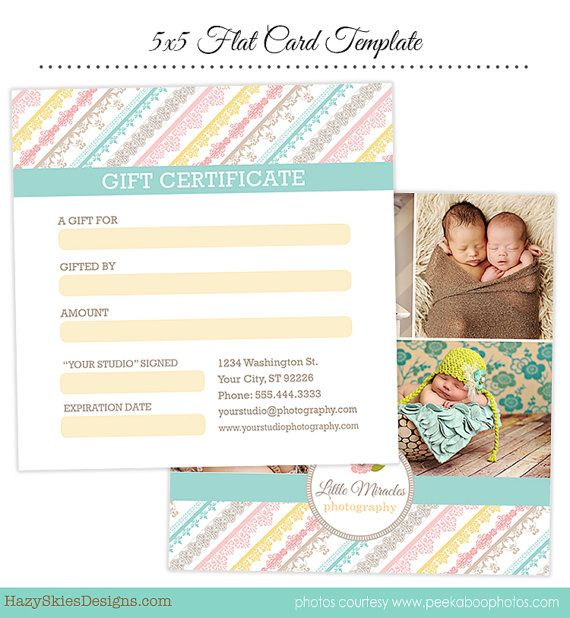 18 best gift certificate ideas images on Pinterest Photography - photography gift certificate template