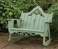 Rockers, Swings and Gliders | Charleston Gardens® - Home and Garden Collection Classic outdoor and garden furnishings, urns & planters and garden-related gifts