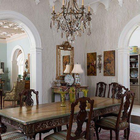Antique Dining Room Furniture ~ Atlanta, Georgia: Architectural Digest