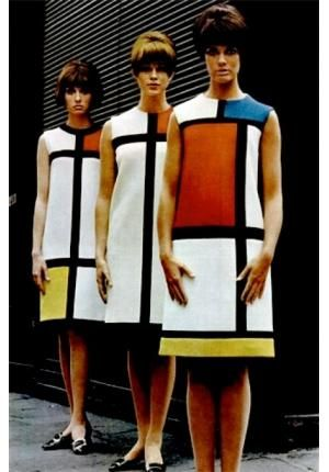 Yves Saint Laurent - Mondrian inspiration