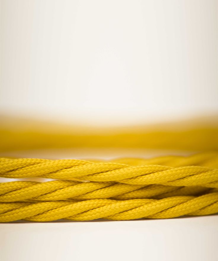 Vintage Fabric Electric Cable - Rich Gold Twisted - William&Watson