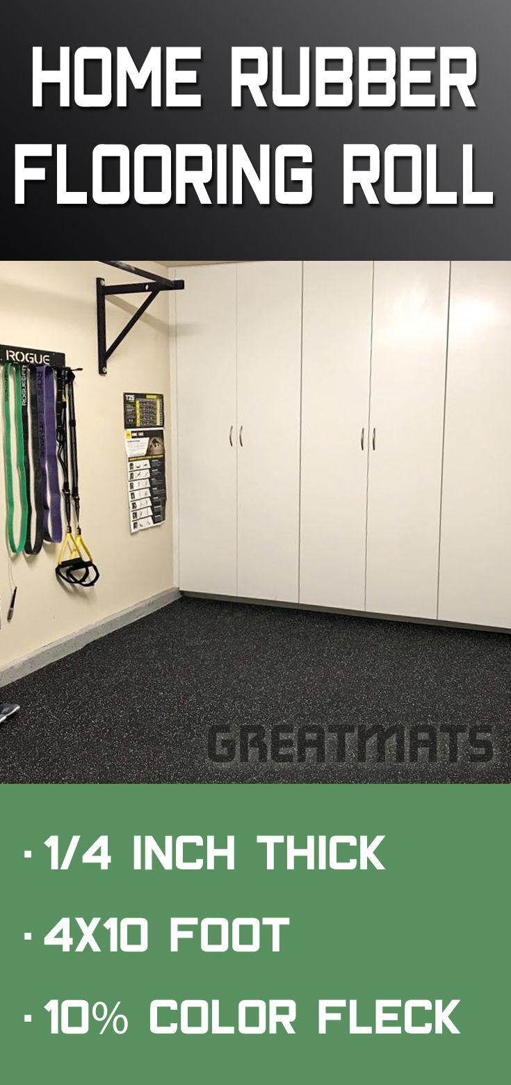 4x10 Rubber Gym Floor Rolls Rubber Flooring Home Gym Flooring Rolled Rubber Flooring