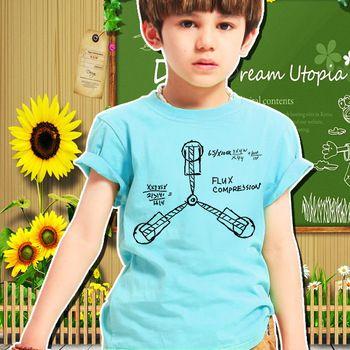 Goedkope nieuwe t-shirt kinderen terug naar de toekomst t- shirt jongens meisjes boven tees kinderen unisex kleding camiseta korte mouw t-shirts