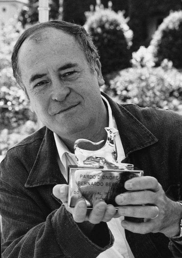 Bernardo Bertolucci à Locarno (Festival del film Locarno, 1993).