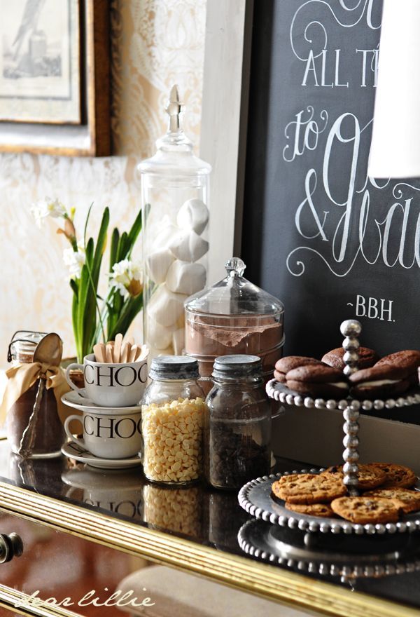 1000 Images About Hot Chocolate Station On Pinterest