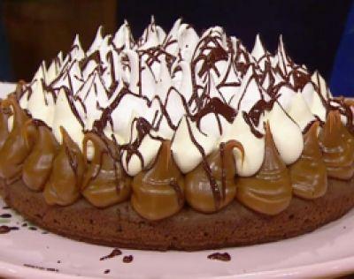 El secreto del brownie humedo para la torta brownie