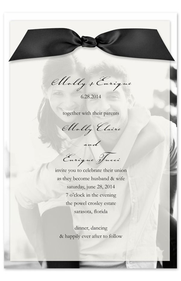 photo invitation idea