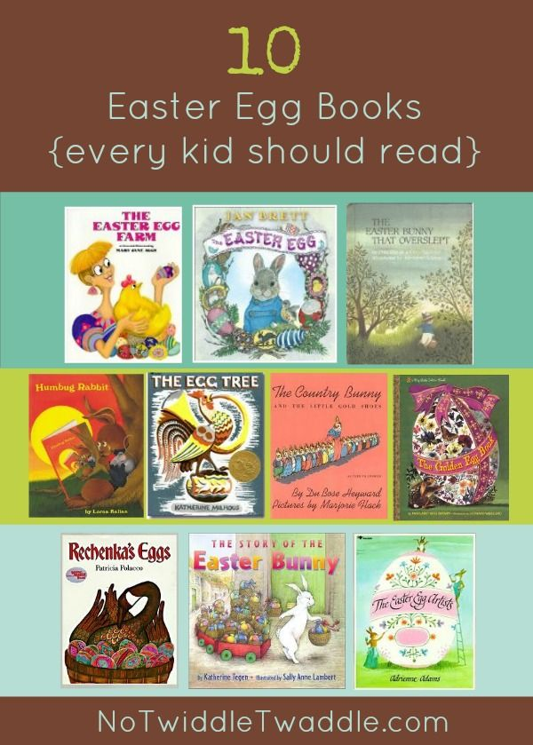 Top 10 Easter Egg Books for Kids: This list contains some lesser known Easter books which are very funny!