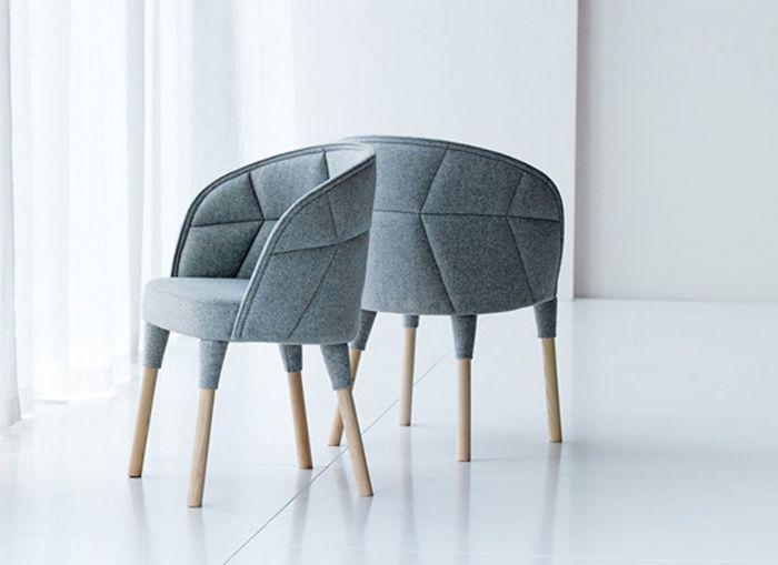 Emily Chair | ICF Emily Chair Design by: Fredrik Färg & Emma Marga Blanche Manufacturer: Gärsnäs Starting List Price: $3,115 Quick Ship: Light grey Sense fabric
