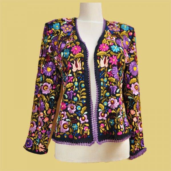 Hungary - Matyó embroidered coat