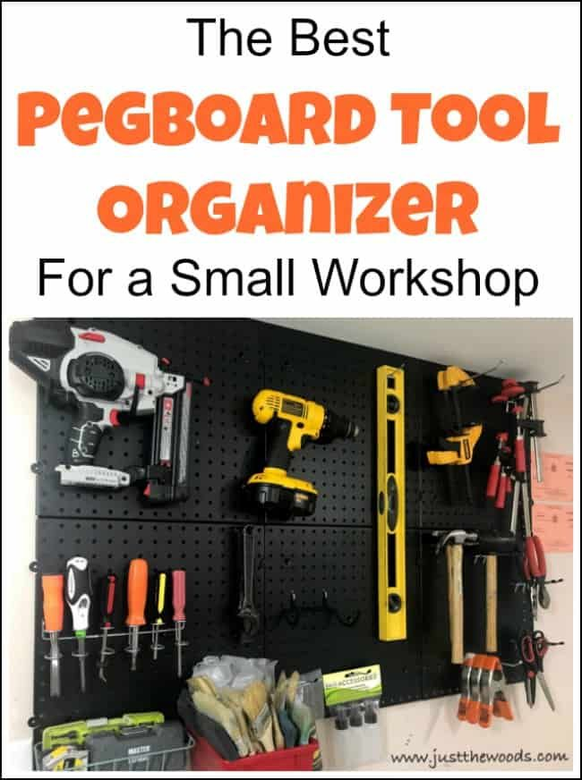 The Best Pegboard Tool Organizer For A Small Workshop