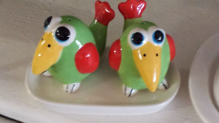 Fair Trade Salt & Pepper shakers.  Only @ The Store Room Gorey.