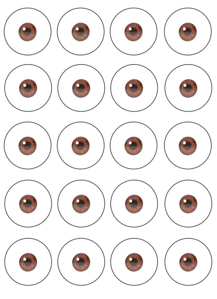 Free Minion Printable Eyes