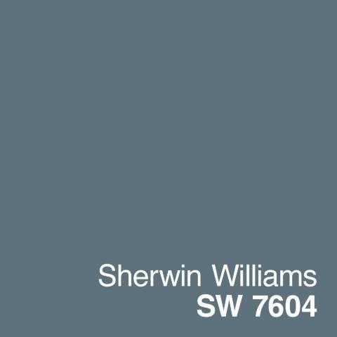 Sherwin Williams- Smoky Blue