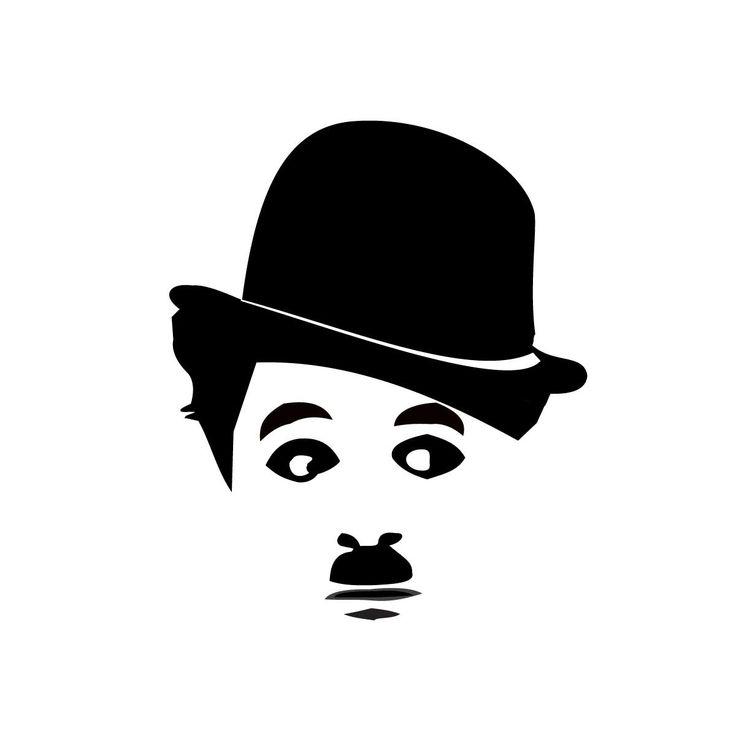 charlie chaplin stencils   Inicio » Nuestra Tienda » Remeras Sae Boba » Cine & Series ...
