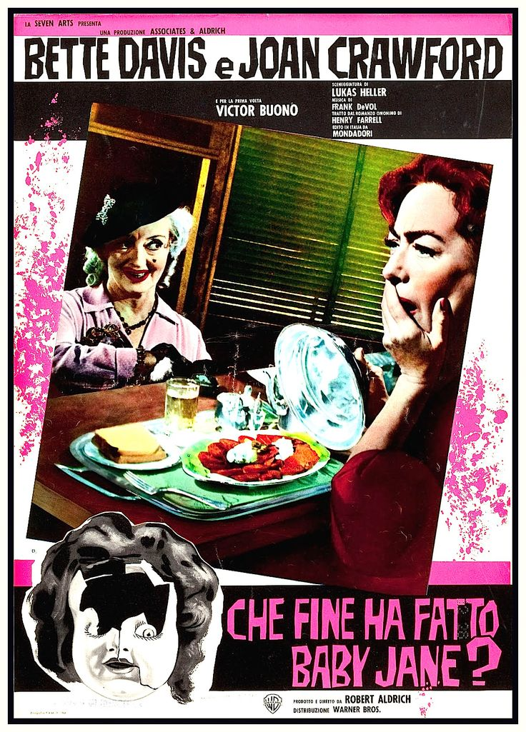 What Ever Happened To Baby Jane? (1962) (Italy)