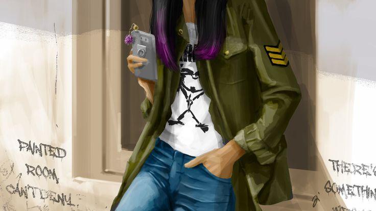 ArtStation - 女儿, Dicky Jiang