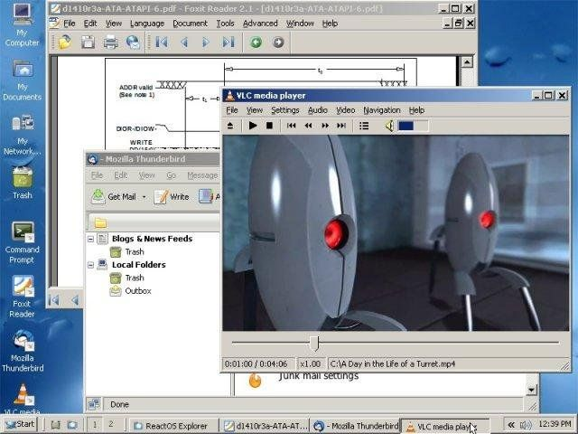 ReactOS 0.4.7 ReactOS is an open source effort to develop a quality operating system that is compatible with applications and drivers written for the Microsoft Windows NT family of operating systems (NT4, 2000, XP, 2003). #computers #software #freeware #opensource