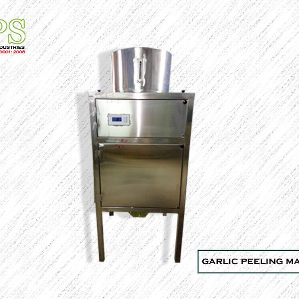 • Capacity:.50/100/150/200 kg/hr • Dimension:L700 x W700 x H1600 mm Motor Power:4KW • Weight:175kg • Approximate Material: Internal made by stainless steel • Power Source:220/380 ACV Or according customers supply source • Require Air Pressure:8~9 kg/CFM 45 • Computerize control panel • Completely automatic dry-peeling operation • Energy saving unit • Automatic temperature control and in feed device • No damage to garlic clove • Guarantee: 1year