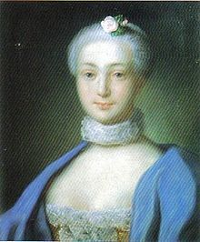 Countess Maria Wilhelmina von Neipperg (later Princess of Auersperg) (30 April 1738 - 21 October 1775) was the mistress of Francis I, Holy Roman Emperor.