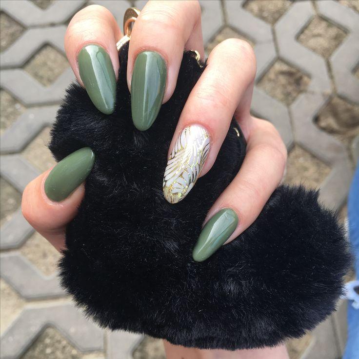 #moro #cinderella #longnails #gold #moro nails #effectivenails