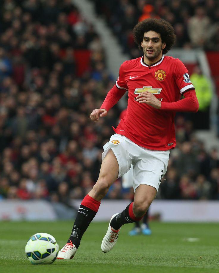 Felliani (No31) scores for Manchester United v Tottenham