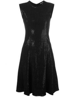расклешенное платье с пайетками 'Abito '