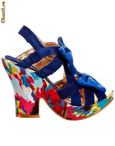 Sandale Squiggly Diggly by  Irregular Choice