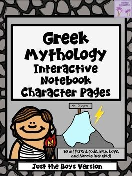 199 best ancient greece images on pinterest ancient greece greece greek mythology characters interactive notebook just the boys version fandeluxe Gallery