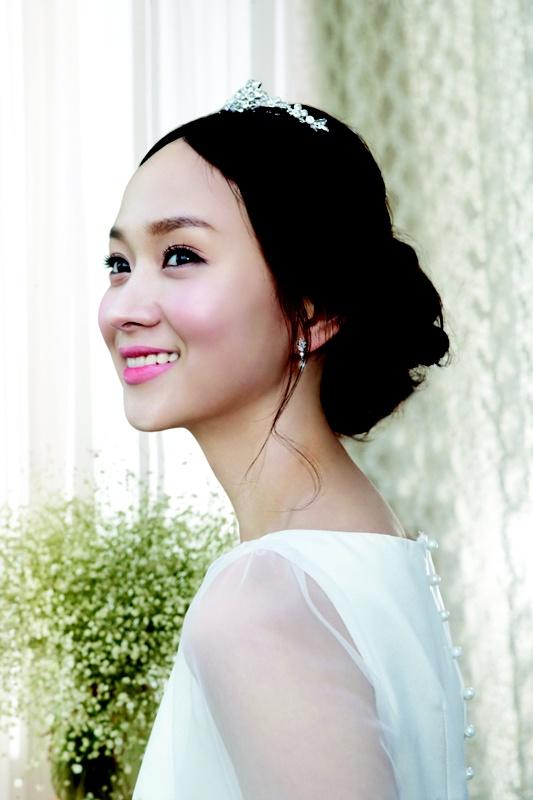 korean wedding hair makeup
