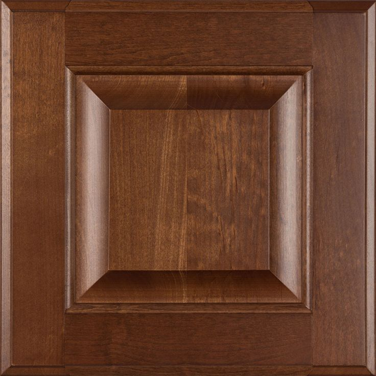 Burrows Cabinets Clear Alder Door In Ambrose