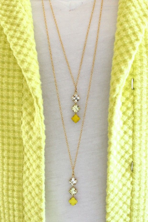 DIY Two-tier Necklace