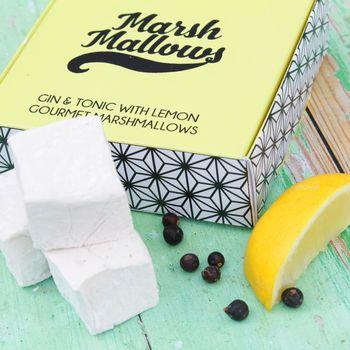 Gin And Tonic Gourmet Marshmallows