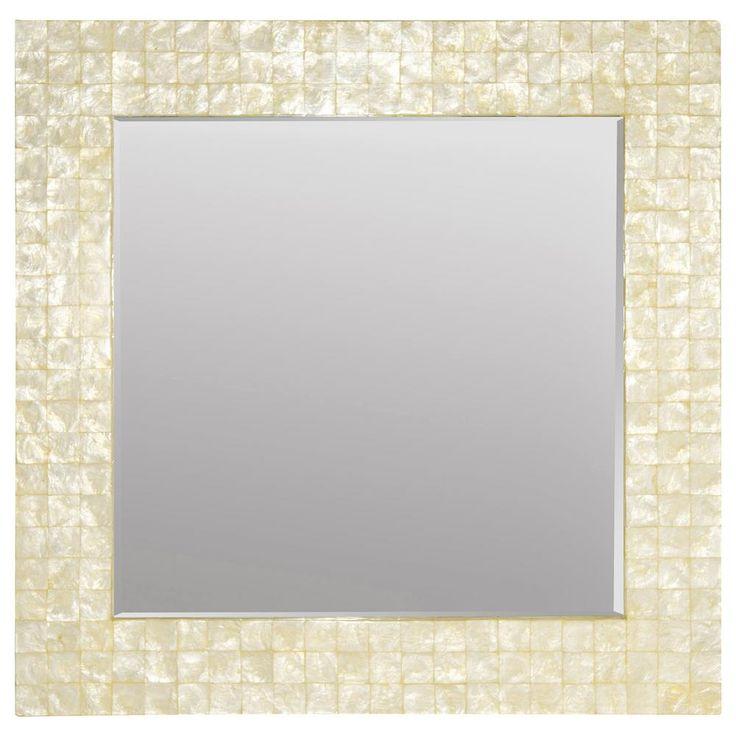 1000 id es sur le th me miroirs de coquilles sur pinterest for Miroir bouclair