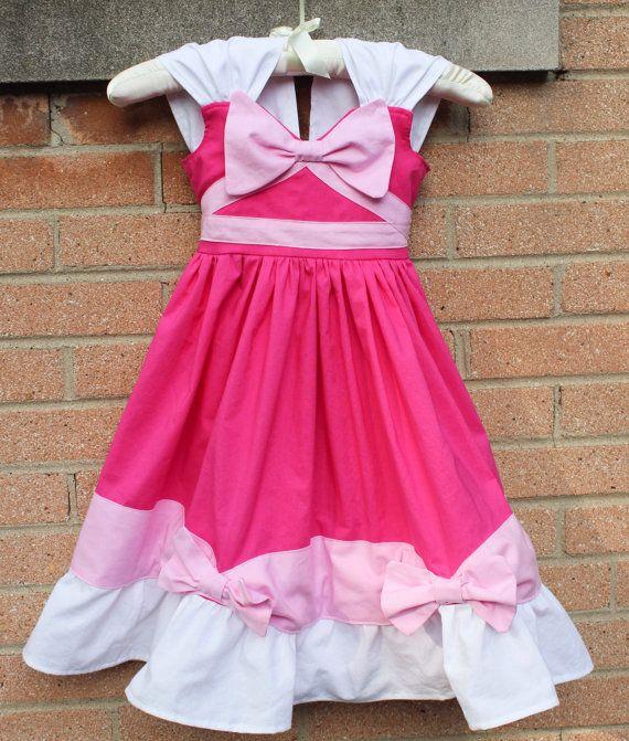 Disney Cinderella Inspired Pink Mouse Made Practical Princess Dress