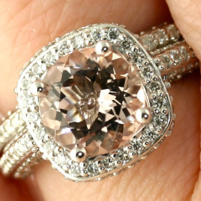 17 Best images about Morganite jewelry on Pinterest