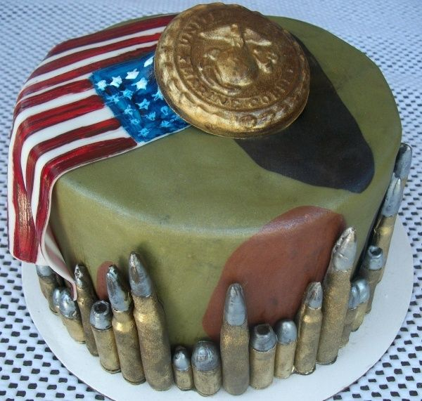 cake images for marines | another marine corps cake