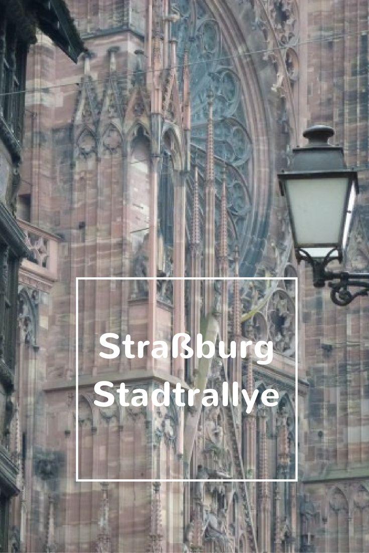 Ein Tag in Straßburg: Familien-Stradtrallye durch die Hauptstadt des Elsass…